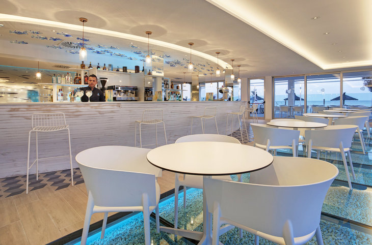 "The Sea Hotel by Grupotel (adults only) <div class=""m-page-header__rating""><span class=""m-page-header__rating--star""></span><span class=""m-page-header__rating--star""></span><span class=""m-page-header__rating--star""></span><span class=""m-page-header__rating--star""></span></div>"